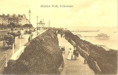 Madiera Walk, Folkestone. Photographic postcard | eBay
