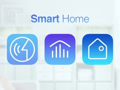 Smart Home APP icons