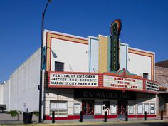 Evangeline Theater, New Iberia, LA | #ArtDeco #preservation