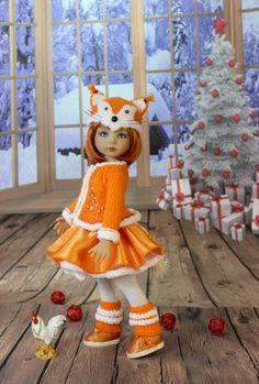"""Карнавальный костюм """"Лиса"""" . Куклы Дианы Эффнер. / Одежда для кукол / Шопик. Продать купить куклу / Бэйбики. Куклы фото. Одежда для кукол"""