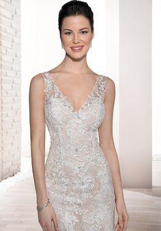 Demetrios 708 Mermaid Wedding Dress