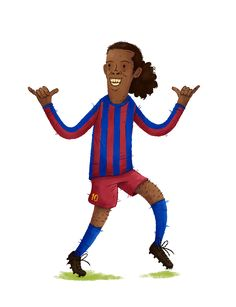 Ronadinho, Barcelone #THEBIGFOOT #FOOT #FIFA #PES #PS4 #XBOX #JEUX #JEUXVIDEO #SOCCER #RONALDINHO #BRÉSIL #PSG #RONNIE #SAMBA #BRÉSIL #BARCELONE #DESSIN #ILLUSTRATION