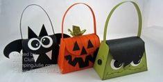 halloween purse treat boxes