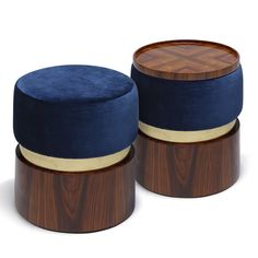 LUNE | STOOLS - Contemporary Stools, Ottomans & Poufs - Dering Hall