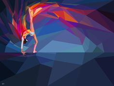 yahoo ilustration for london 2012, sweet dynamic vector usages #tops