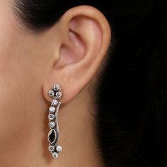 Pink Zircons Earrings