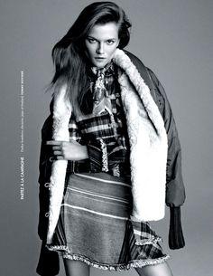 Kasia Struss in Prada by Nagi Sakai for Elle France August 2014