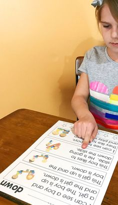 Teach sight words in