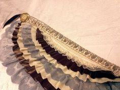 ruffled belly dancing skirt