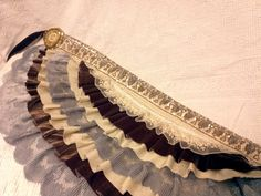 ruffled belly dancing skirt