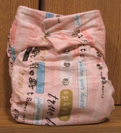 Homemade cloth diaper & wipes tutorials