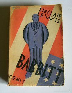 BABBIT - SINCLAIR LEWIS - EDITORIAL CENIT. 1930. PRIMERA EDICION - Foto 1