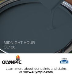 MIDNIGHT HOUR OL126 is a part of the blues collection by Olympic® Paint.