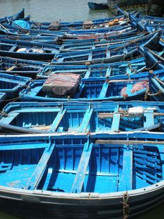 Essaouira, Morocco, because we missed this when our plane was delayed.
