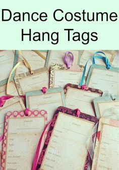 Vintage dance costume hang tags to help your dancer stay organized. This board will cover everything on dance competitions, dance checklists, costuming and makeup tips, how to deal with competitions and backstage drama, how to survive competition season.