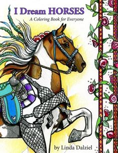Introducing I Dream Horses A Coloring Book for Everyone. Buy Your Books Here and follow us for more updates!
