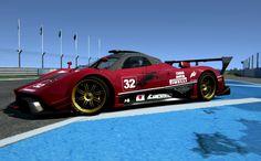 Assetto Corsa - Pagani Zonda R - Donington GP