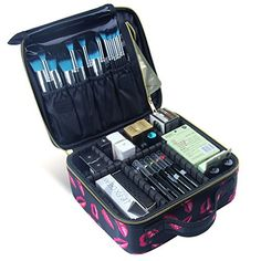 Best Makeup Bag   MLMSY Professional Cosmetic Makeup BagToiletry BagCosmetic PouchTravelBagCosmetic OrganizerAccessories Case ** More info could be found at the image url. Note:It is Affiliate Link to Amazon.
