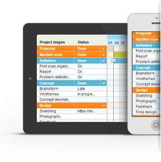 Tom's Planner - online gantt project. 1 project is free as a demo. iOS 7 Android compatible
