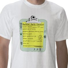 Bachelor Party Checklist Tshirts from http://www.zazzle.com/bachelor+checklist+tshirts