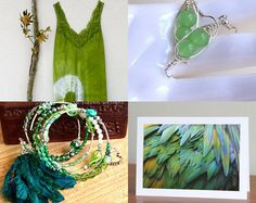 Green Friday by Coralie Milne on Etsy--Pinned+with+TreasuryPin.com