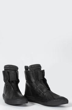 Odeur - Plain leather sneaker - orimono.eu