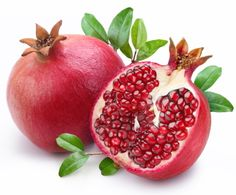 How to Grow Pomegranates-These make beautiful ornamental, flowering bushes and then you are rewarded with fruit also.