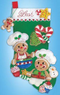 Design Works Christmas Sewing, Christmas Projects, Christmas Themes, Handmade Christmas, Vintage Christmas, Christmas Holidays, Christmas Decorations, Merry Stockings, Felt Christmas Stockings