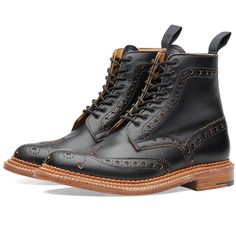 Grenson Fred Triple Welt ($620) ❤ liked on Polyvore featuring men's fashion and men's shoes