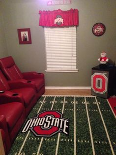 The Rug. ohio state field.