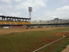 Kanteerava Outdoor Stadium in Bangalore, Karnātaka