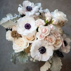 Love the colors of this bouquet!