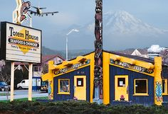 Totem House Fish 'n Chips (1948 - 2010). Food was never terrific, but have fond memories of going to the Ballard Locks to eat fish 'n chips with my folks and watching the boats pass through. My dad has memories of doing the same thing with his father. Sad to see a Seattle institution go.