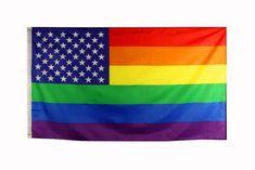 Regenbogen Lgbt Gay Pride Born This Way 5/'X 3/' Flagge
