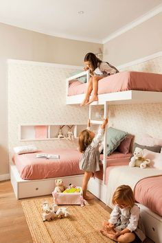 〚 Kids room for two or three: decoration tips and ideas 〛 ◾ Photos ◾Ideas◾ Design