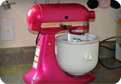 bowl for your ice-cream freezer | KitchenAid Ice Cream Maker & Strawberry Sorbet Recipe