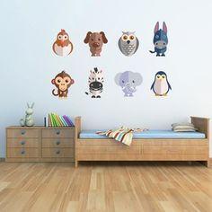 Samolepka na stěnu Flat Animal