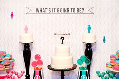 GAME ON! Girl vs. Boy Gender Reveal Party