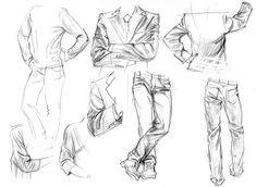 https://flic.kr/p/Dkeqqw | 19-1-02-2016s | sketch of dress folds-2