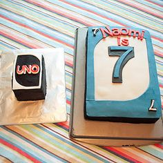 Uno Birthday for a combo first and seventh birthday party. Pinned for @JanetandClint Burkenpas