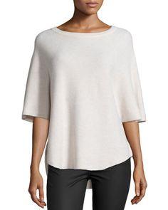 Jolena B Honeycomb-Stitch Sweater by Joie at Neiman Marcus.