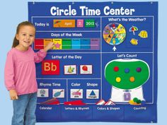 Circle Time Learning Center ~ bought it!  Lots of fun activities & very nicely made!
