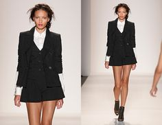 The new 3 piece suit. Check out Rachel Zoe's Spring 2014 Collection for some serious style inspiration. @Matty Chuah Zoe Report