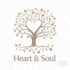 heart and soul recovery program logo by NancyCarterDesign