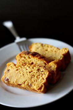 Cake au potiron, parmesan et jambon cru (sans beurre ni huile)