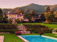Santa Barbara, Calif.  (I can dream, right?) How beautiful life would be if I could live like that everyday! hehe