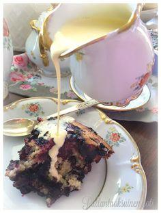 Pullantuoksuinen koti: Helppo ja herkullinen Mustikkapiirakka. Easy and delicious blueberry pie.