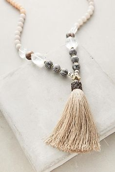 Luciana Tassel Necklace - anthropologie.com