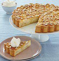 Mary Berry's pear frangipane tart recipe - hellomagazine.com