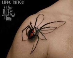. . Das Spinnen-Tattoo ist, vor allem für Betrachter, nichts für schwache Nerven Die Darstellung einer Spinnen Tätowierung wird sehr gerne in der Stil Richtung Realistik erstellt. Sie kann sowohl in Farbe als auch in Black-and-Grey gestochen werden, wobei es dem Wunsch des Kunden überlassen ble…